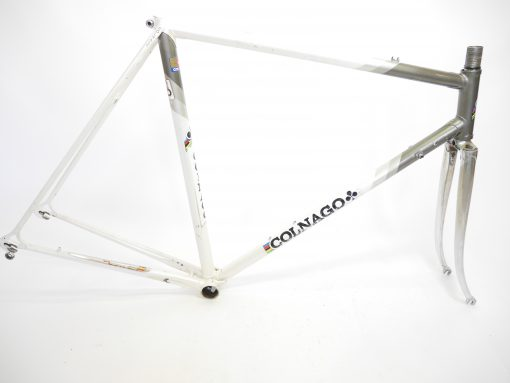 Vintage Colnago Super Columbus steel 70s frame and fork C-C 53 cm