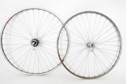 Vintage Galli Across America Wheels Campagnolo Record Nuovo 700c 6speed clincher