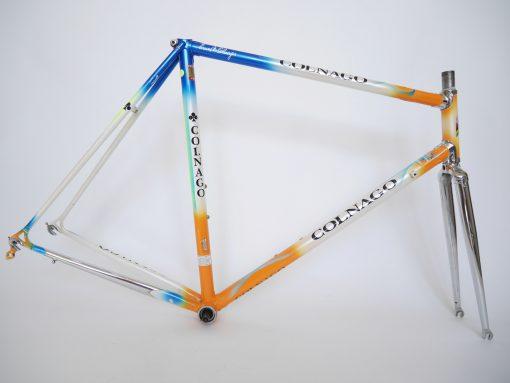 Colnago Rabobank team colour frame Columbus Brain tubing c-c 55cm 90s Henk Baars